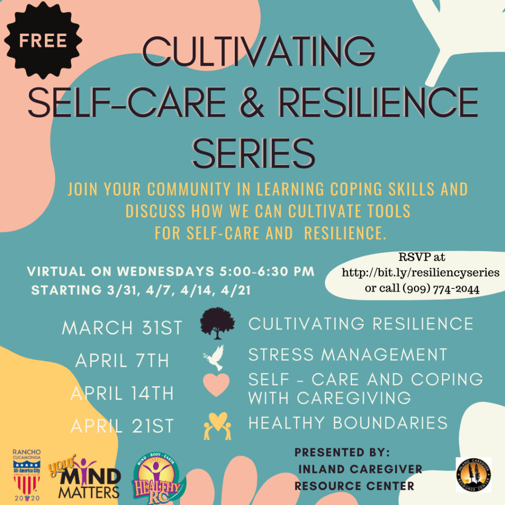 Flyer for Self-Care and Resilience
