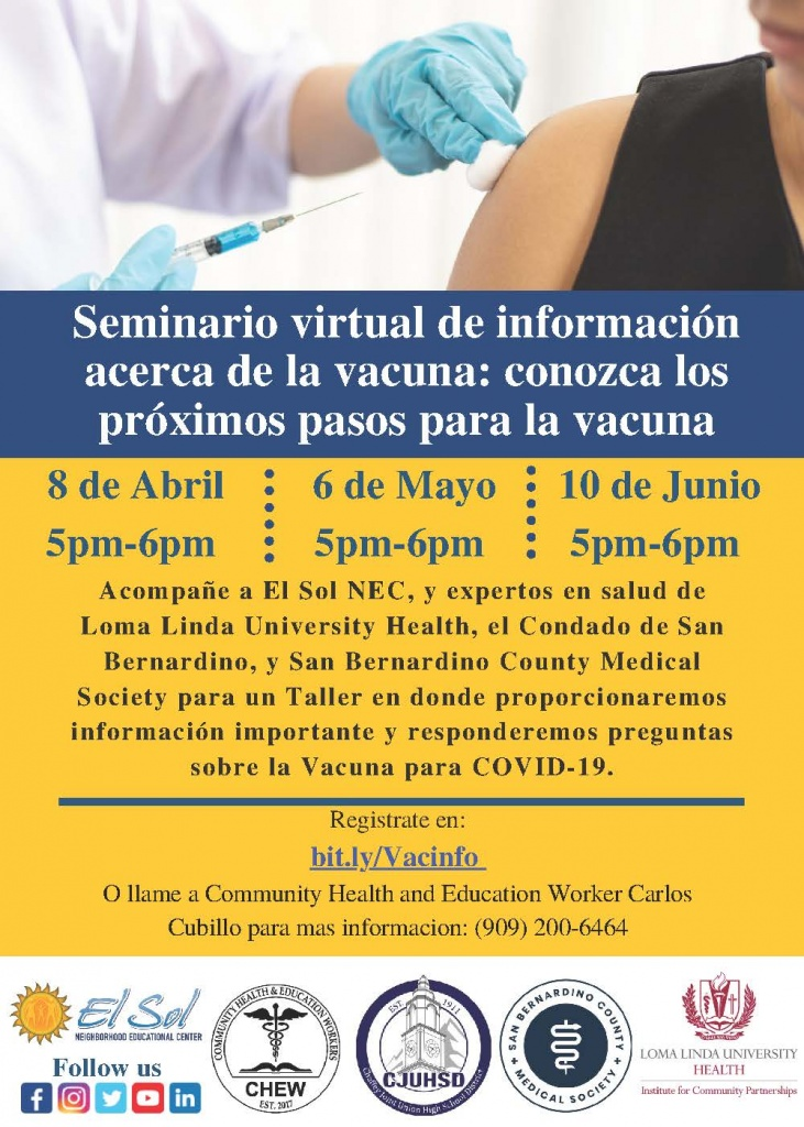 Vaccine-Webinar in Spanish